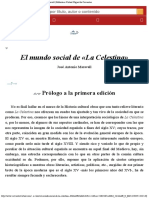 El mundo social de La Celestina  José Antonio Maravall  Biblioteca Virtual Migu