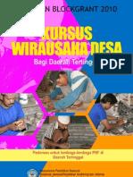 Kursus Wirausaha Desa Tertinggal 2010