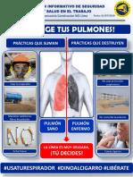 Boletín protege tus pulmones