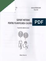 Suport metodic pentru planificarea calendaristica Grupa mica, mijlocie si mare - Smaranda Maria Cioflica, Gabriela Berbeceanu