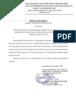 PENGUMUMAN PESERTA P1_TL