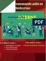 communicatin interne
