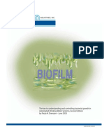 4230-DS3100_CompleteBiofilm the Key to Understanding and Controlling Bacterial Growth in Automated Drinking Water Systems