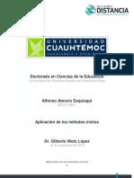 """3.3  """"Aplicación de los métodos mixtos. Atencio, Alfonso (1)"""