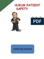 Aspek Hukum Patient Safety New.pptx