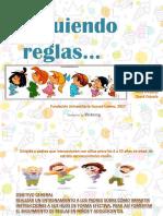 Cartilla Desarrollo Infantil sobre seguimiento de reglas