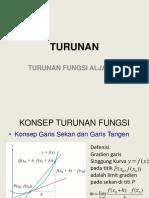 Turunan Aljabar.pptx