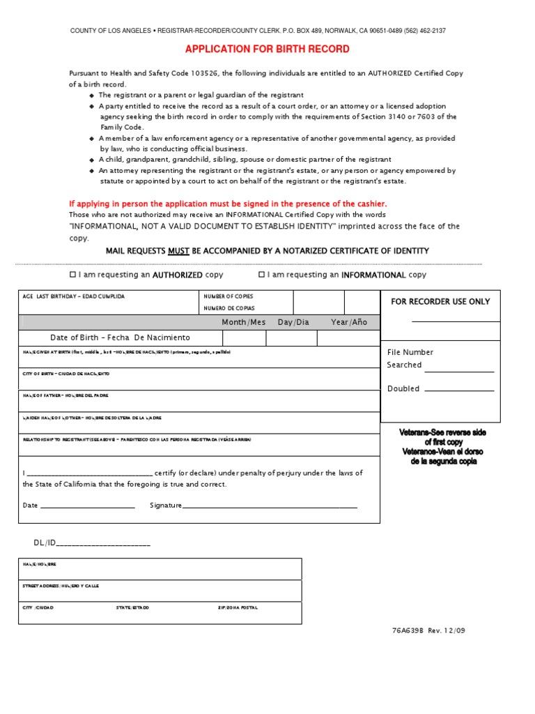 Birth record birth certificate justice aiddatafo Gallery