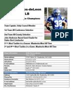 Dallis Player Profile 2011