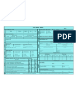 Cold Work Permit - Typical Format