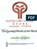 Hotel Oro Verde, Leading Hotels of the World Fundas 100% Biodegradables