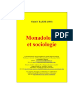 Monadologie et sociologie