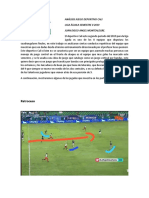 Analisis juego deportivo cali