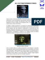 7 razas extraterrestres @OVNIsyUFOs