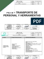 PO-CL-ECO-LOG-01 TRANSPORTE DE PERSONAL Y HERRAMIENTAS