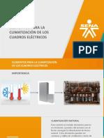 Climatización en cuadros electricos