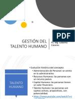 Gestion del Talento Humano Diapositivas