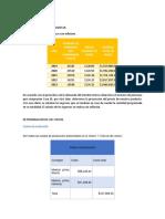 ESTUDIO ECONOMICO y tasas