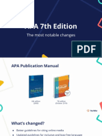 APA 7th edition lecture slides
