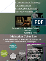 Information Communication Technology SOFTCOPY (Cyber law)