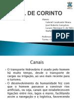 Apresentação Canal de Corinto
