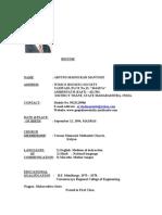 Arvind Mantode Resume