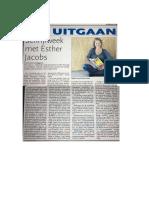 Schrijfweek Met Esther Jacobs  - Antiliaans Dagblad