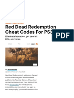 Red Dead Redemption Cheat Codes For PS3.pdf