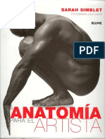 Anatomía para el artista reducido - Blume