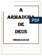 EU ESCOLHO DEUS - armadura de Deus