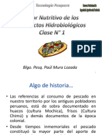 Composición Bioquímica del Pescado 1º Clase