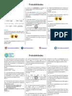 Probabilidades Ejercicios Propuestos PDF