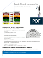 Identificando os Cilindros de Gases - Guias & Tutoriais DBC Oxigênio