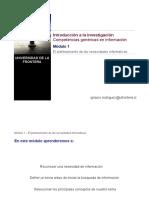 Intro a la investigación_Módulo 1_Competencias en información