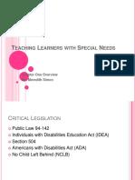 teachinglearnerswithspecialneedsmeredithsimon-110114211157-phpapp02
