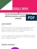 Uso de apps google para la gestion administrativa en las escuela