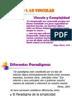 Vínculo y complejidad_Paradigmas