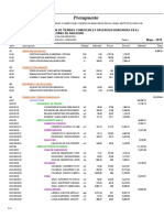 Presupuesto CONSTRUCCION DE TIENDAS COMERCIALES YAGENCIAS BANCARIAS EN E