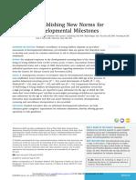 (SHELDRICK et al 2019) Establishing New Norms for Developmental Milestones