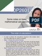 StudyUnit3Basicmathematicalcalculations