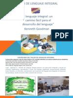 taller de lenguaje integral