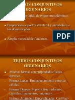 TEJIDOS CONECTIVOS ORDINARIOS.ppt
