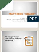 MATRICES SHARP