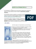 2.BIOMOLECULAS INORGANICAS