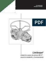 manuala limitorque - instalacion y funcionamiento