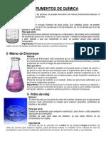 35 Instrumentos de Química