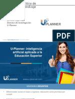 U-Planner - Analitica de aprendizaje