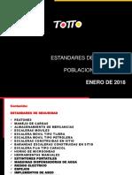 ESTANDARES DE SEGURIDAD TIENDAS 2018