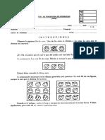 Test de Caras-Protocolo