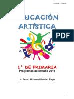 1° ESTRUCTURA DEL PROGRAMA DE PRIMARIA SEP